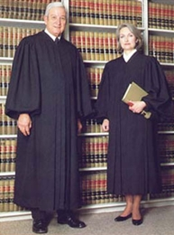 Judicial/officiant robes from The Robe Shop