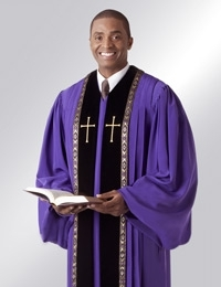 50ad68420e Clergy Robes for Men- Ready to Wear Pulpit Robes